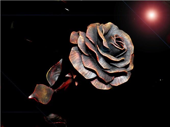 Розы из металла своими руками - Всё о фигуре здесь